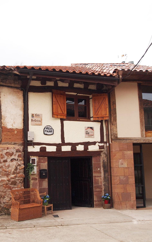 Entrada Casa rural Villapajar