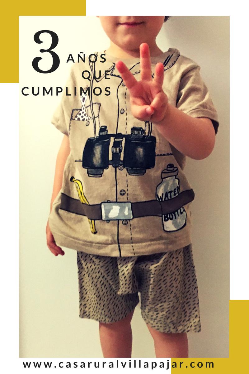 ¡Celebramos!: Villapajar cumple tres años