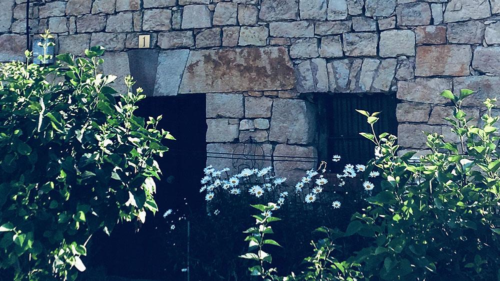 Casa rural en la Sierra de la Demanda, detalle en Valmala