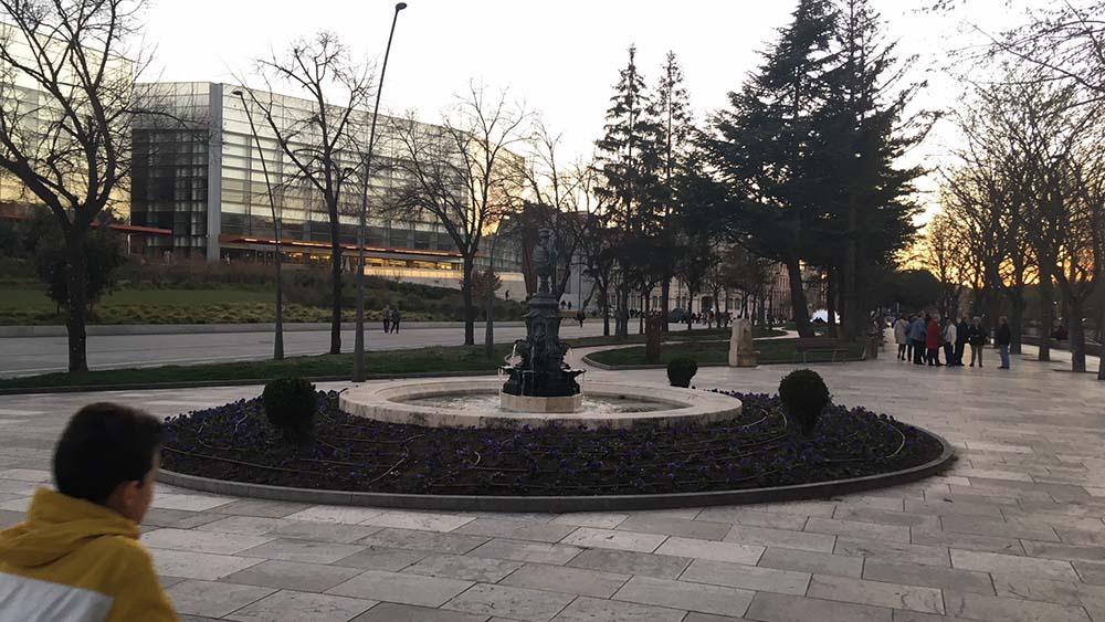 Vista de Burgos desde el Museo de la Evolución